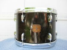 Vintage 1970's Gretsch Square Badge Walnut Lacquer 9 x13 Tom