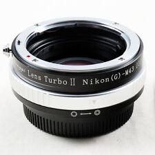 Zhongyi Focal Reducer Lens Turbo II Booster Nikon F für Micro 4/3 Adapter MFT G6