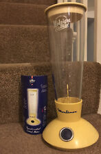 Moulinex Midnight Cocktail Special 2000 Mixer Shaker Drink Maker Home Bar Tested