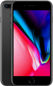 iPhone 8 Plus - Unlocked 64GB - Gray - Good