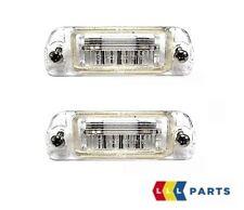 NUOVO Originale Mercedes Benz MB SLK CLASSE R170 license number Plate Light Lampada Set