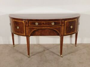 BAKER Furniture Colonial Williamsburg #8832 Inlaid Mahogany Sideboard