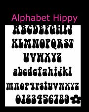 Alphabet Book Folding PATTERN~to create your own folded book words-Hippy
