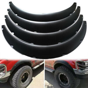 """4x 3.5"""" 90mm Car Fender Flares Extra Wide Body Kit Wheel Arches For Ford Explore"""