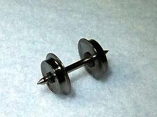 10 H0e Radsätze/Achsen 8,3mm A:18,5mm beidseitig Isoliert Messing Spurweite 9mm