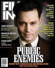 FILMINK Magazine August 2009 Vol. 8.28 Public Enemies Beautiful Kate Cedar Boys