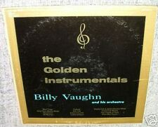 "VAUGHN Billy ♫ THE GOLDEN INSTRUMENTALS ♫ vinyl 33rpm 12"" LP album record ♫"