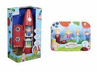 Ben and Holly Little Kingdom Elf Rocket & Figures Toy Playset Bundle