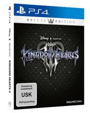 Kingdom Hearts III -- Deluxe Edition (Sony PlayStation 4, 2019)