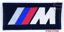 BMW M3 Serie Auto Rennen zum Aufbügeln Aufnäher gestickte abzeichen