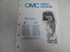 1985 johnson evinrude outboard motor parts catalog 40 hp