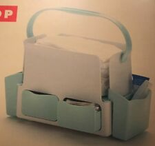 Skip Hop Toolbox Diaper Caddy.  White & Green.  NEW.  Free Shipping.