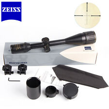 Zeiss Conquest Hunting Rifle Scope 6-24x50 R&G Reticle Illuminated w/ 20mm Mount