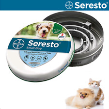 Bayer Seresto Flea and Tick Collar for small Dog 8 Months Protection Free  Ship