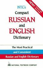 NTC's Compact Russian and English Dictionary by L. P. Popova (1994, Paperback)