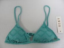 Roxy Women Medium Bikini Top  Slide Tri ARJX303128 Green