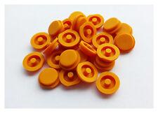 2x Schlüssel Taste Druckknopf Gummi Gelb für SMART ForTwo MC01 450 Fernbedienung