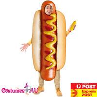 Adult Hot Dog Hotdog Costume Footy Match Food Humour Bucks Hen Night Mens Stag