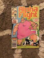 Alpha Flight #22 May 1985 Marvel