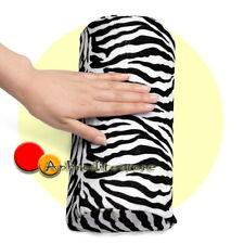 Poggia Mano Piede Cuscino Strisce a Zebra per Nail Art Ricostruzione Unghie