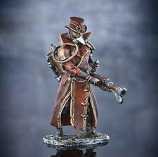 Elite gemalt Zinnfigur. Pestarzt Steampunk. model 1/32 54mm