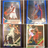 2019-20 Donruss Optic Basketball - PRIZM ONLY! BLUE PURPLE PINK - PICK A CARD!