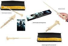 Lord Voldemort Zauberstab + Box 34cm (Orginal Film-Replikat Harry Potter) Neu