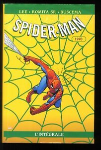 SPIDER-MAN  L'INTEGRALE T.8  1970  LEE / ROMITA Sr  MARVEL / PANINI  EO 2005