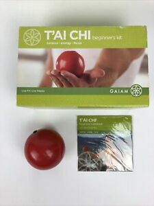 T'AI CHI Beginner's Kit for Balance Energy & Focus by Gaiam Work Out Exercise