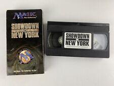 Magic The Gathering MTG Pro Tour Showdown in New York VHS Video 1996
