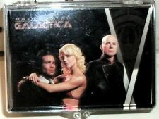 BATTLESTAR GALACTICA SEASON 1 - COMPLETE 81 CARD BASE SET