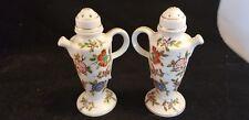 vintage porcelain Salt & Pepper shakers Tea Pot