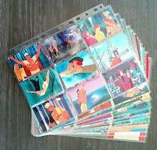 1996 WALT DISNEY'S POCAHONTAS COMPLETE COMMON/POP-OUT CARD SET W/PLASTIC SLEEVES