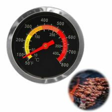 New Stainless Steel BBQ Smoker Grill Thermometer Temperature Gauge 10-400Degrees