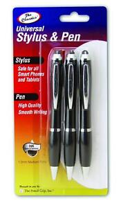 New The Pencil Grip Stylus with Gripped Pen - Set of 3