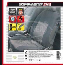 Heyner 12V Premium Carbon Sitzheizung beheizbarer Sitzbezug inkl. Lenkradbezug