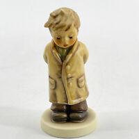 Vintage Hummel Goebel Boy Figurine TOO SHY TO SING Collectors Club 2002 HUM 845