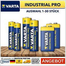 Varta Industrial AAA Aa 9V Blue Batteries Mignon Mirco Block Battery HR03 HR06
