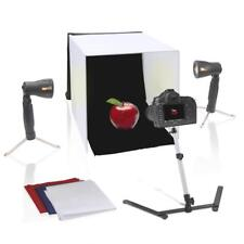 New Pyle PSTDKT8 Professional Studio Photo Light Booth, Image & Photography Kit
