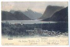 Z 53 - Saebo, Hjorlindfjord,gl. Marke gelöst, J. Aarflot, Aalesund