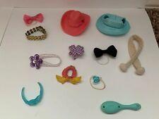 Littlest Pet Shop LPS Lot of 12 Fashion Accessories Hats Headbands