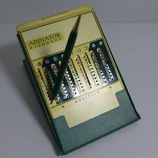 Addiator Standard mit grünem Klappstativ, Seriennummer. Garantieschein