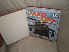 Take off plane magazines in binder number 2 . 12 copies,No 13 to 24.