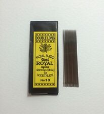 50 Pcs Useful Assorted Hand Sewing Needles No.10 Size 5 cm. (Double Long)
