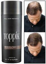 Toppik 27,5gr Poudre de Cheveux densifiant Calvitie Fiber - dark brown