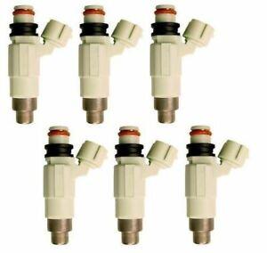 6 FUEL INJECTORS for SUZUKI GRAND VITARA XL-7 JA627 H27A 2.7L V6 01-05 INJECTOR