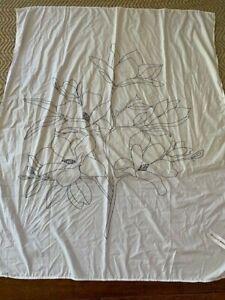 "UO White/Black Tapestry, 48""x58"", New"