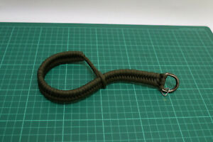 Olive Green Paracord Camera Wrist Strap, Used