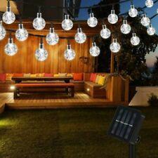 9/11M Lichterkette 60 Glühbirnen Außen Garten String Licht Birnen für Party Deko