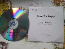 Jennifer Lopez – Ain't It Funny Label: Epic Records  UK Promo CD Single